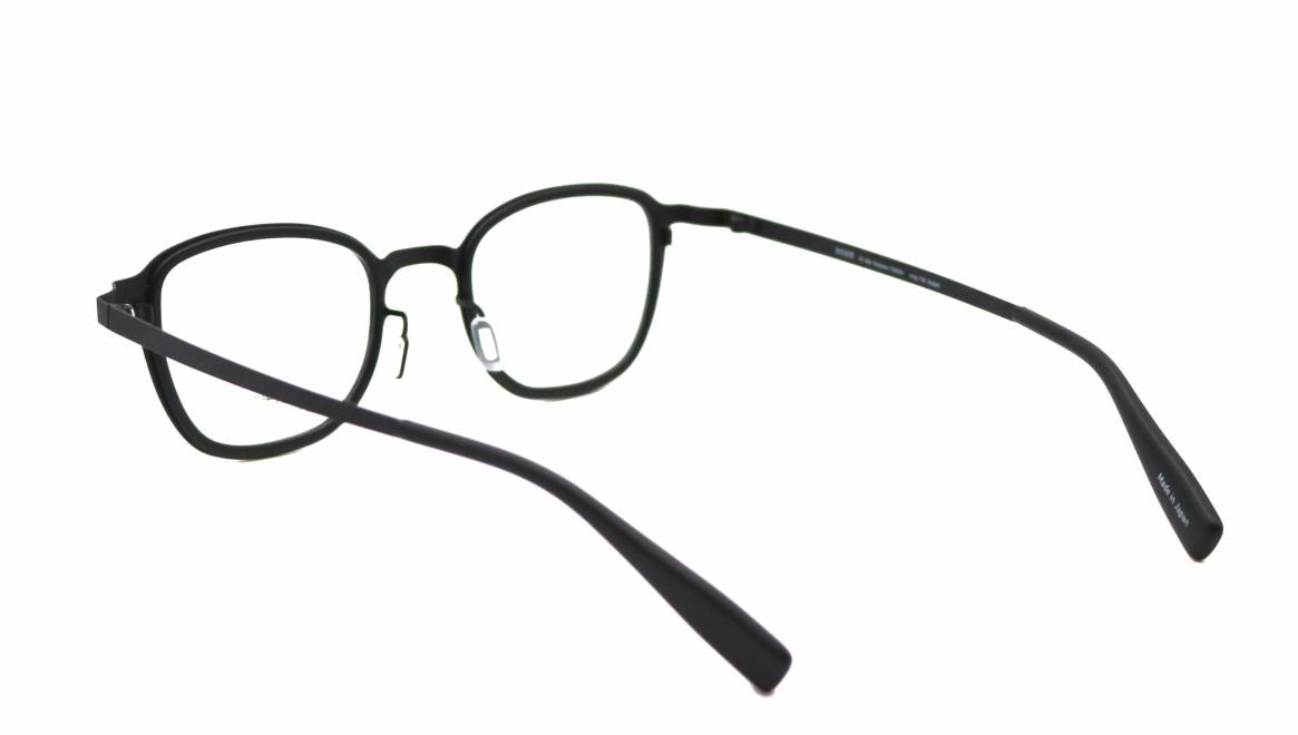 seem Oh My Glasses TOKYO omg-136 Rudolf-BKMーBK-48 [メタル/鯖江産/ウェリントン]  3