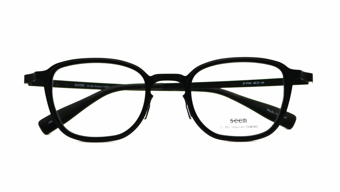 seem Oh My Glasses TOKYO omg-136 Rudolf-BKMーBK-48 [メタル/鯖江産/ウェリントン]  4