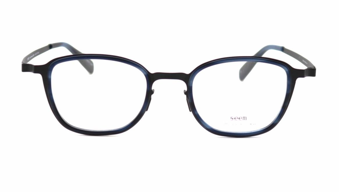 seem Oh My Glasses TOKYO omg-136 Rudolf-BKMーBL-48 [メタル/鯖江産/ウェリントン]