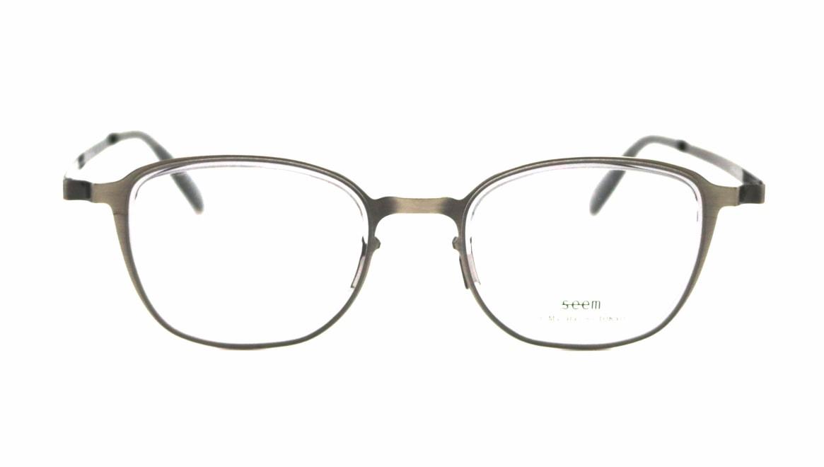seem Oh My Glasses TOKYO omg-136 Rudolf-ATSーCG-48 [メタル/鯖江産/ウェリントン/シルバー]