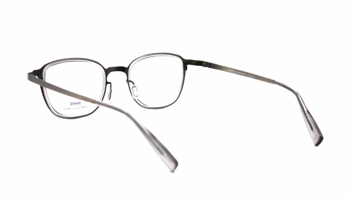 seem Oh My Glasses TOKYO omg-136 Rudolf-ATSーCG-48 [メタル/鯖江産/ウェリントン/シルバー]  3