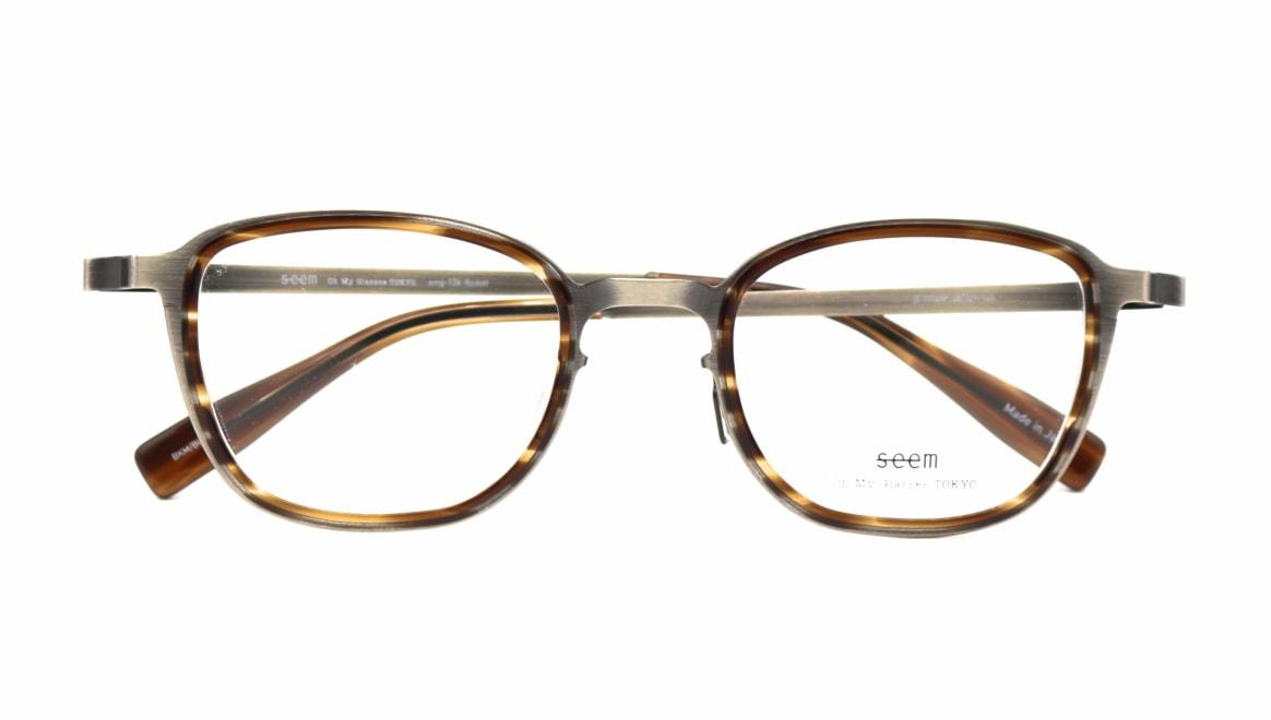 seem Oh My Glasses TOKYO omg-136 Rudolf-ATSーBR-48 [メタル/鯖江産/ウェリントン/シルバー]  4