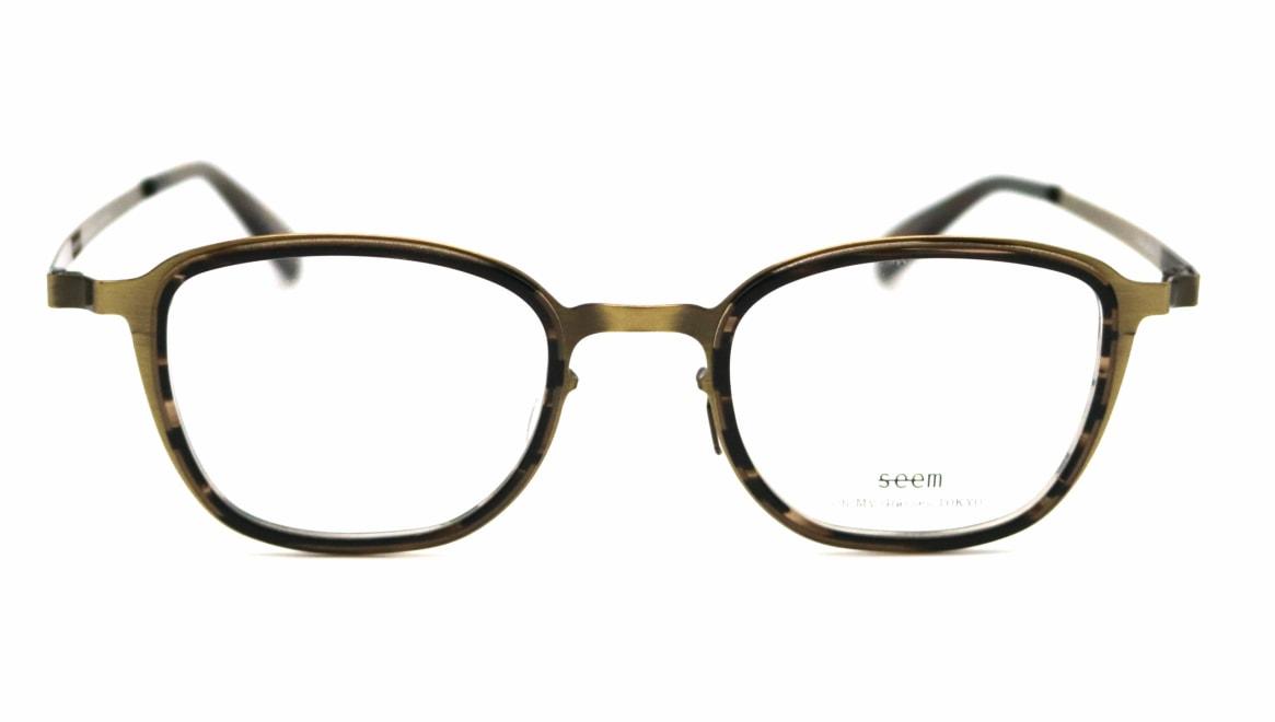 seem Oh My Glasses TOKYO omg-136 Rudolf-ATG-48 [メタル/鯖江産/ウェリントン/ゴールド]