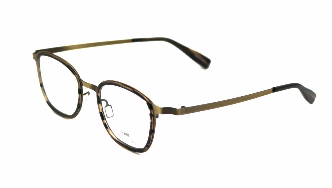 seem Oh My Glasses TOKYO omg-136 Rudolf-ATG-48 [メタル/鯖江産/ウェリントン/ゴールド]  1