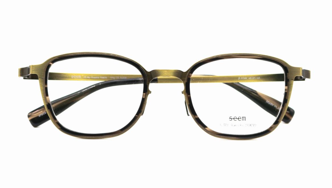 seem Oh My Glasses TOKYO omg-136 Rudolf-ATG-48 [メタル/鯖江産/ウェリントン/ゴールド]  4