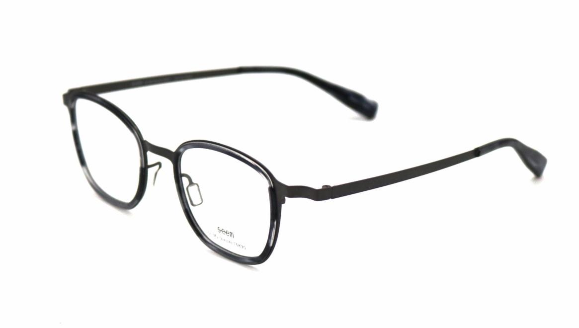 seem Oh My Glasses TOKYO omg-136 Rudolf-GRY-48 [メタル/鯖江産/ウェリントン/グレー]  1