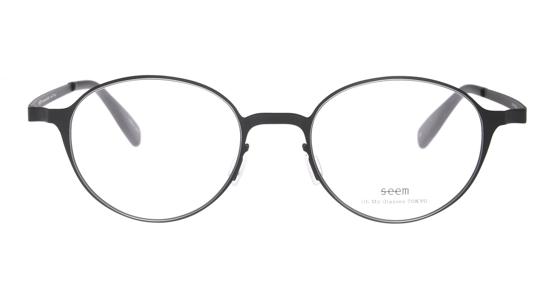 seem Oh My Glasses TOKYO omg-137 Susan-BKM-50 [メタル/鯖江産/丸メガネ]