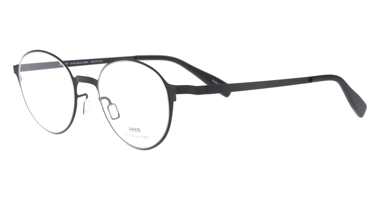 seem Oh My Glasses TOKYO omg-137 Susan-BKM-50 [メタル/鯖江産/丸メガネ]  1