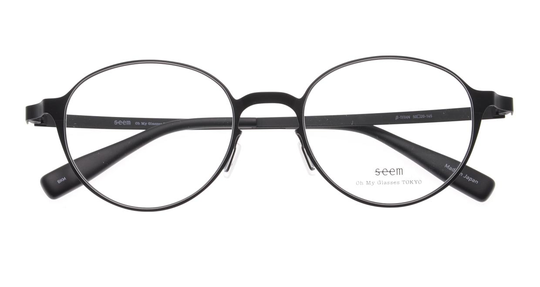 seem Oh My Glasses TOKYO omg-137 Susan-BKM-50 [メタル/鯖江産/丸メガネ]  4
