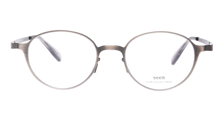 seem Oh My Glasses TOKYO omg-137 Susan-ATS-50 [メタル/鯖江産/丸メガネ/シルバー]