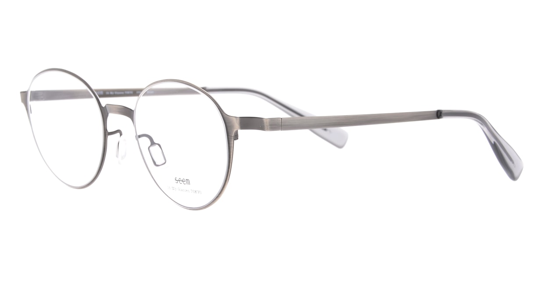 seem Oh My Glasses TOKYO omg-137 Susan-ATS-50 [メタル/鯖江産/丸メガネ/シルバー]  1