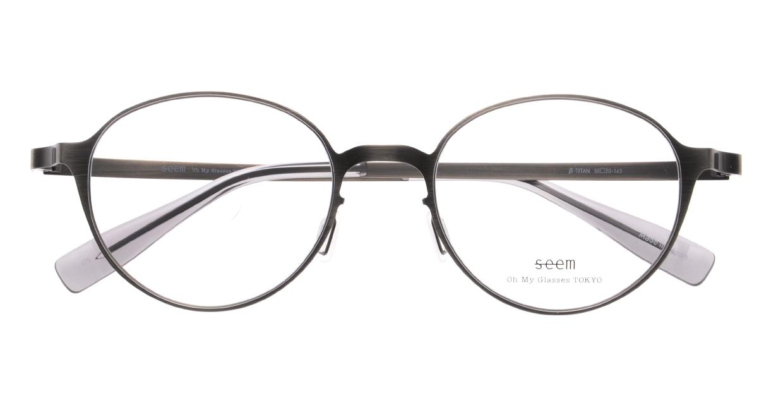 seem Oh My Glasses TOKYO omg-137 Susan-ATS-50 [メタル/鯖江産/丸メガネ/シルバー]  4
