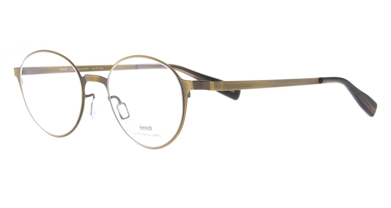 seem Oh My Glasses TOKYO omg-137 Susan-ATG-50 [メタル/鯖江産/丸メガネ/ゴールド]  1