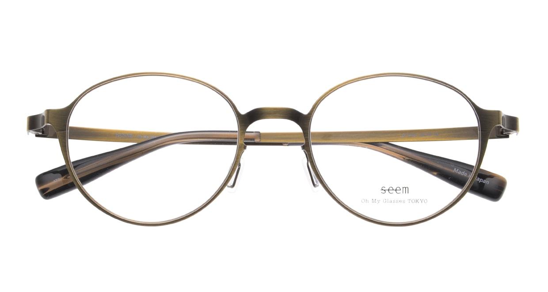 seem Oh My Glasses TOKYO omg-137 Susan-ATG-50 [メタル/鯖江産/丸メガネ/ゴールド]  4