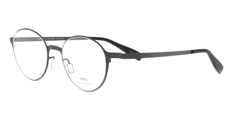 seem Oh My Glasses TOKYO omg-137 Susan-GRY-50 [メタル/鯖江産/丸メガネ/グレー]  1