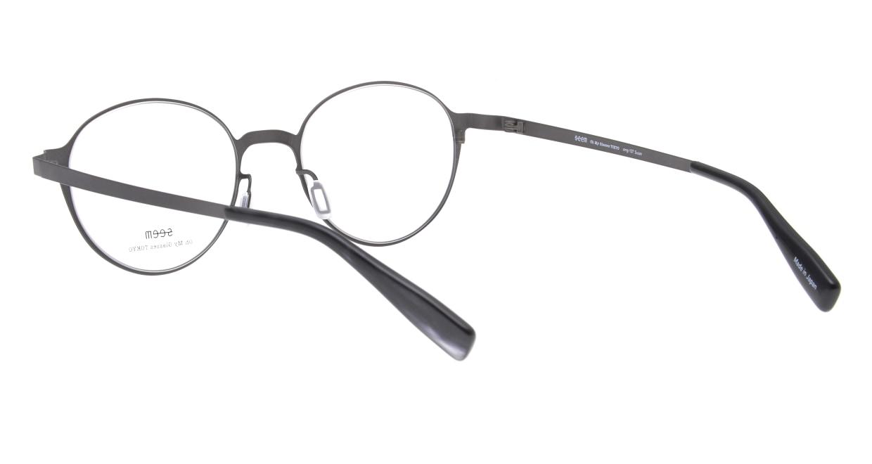 seem Oh My Glasses TOKYO omg-137 Susan-GRY-50 [メタル/鯖江産/丸メガネ/グレー]  3
