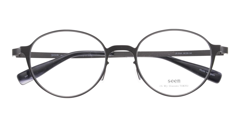 seem Oh My Glasses TOKYO omg-137 Susan-GRY-50 [メタル/鯖江産/丸メガネ/グレー]  4