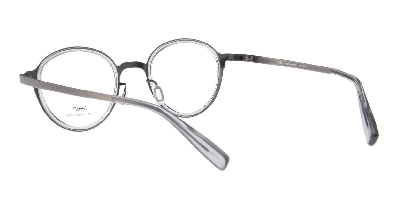 seem Oh My Glasses TOKYO omg-138 Rosa-ATSーCG-48 [メタル/鯖江産/丸メガネ/シルバー]  3
