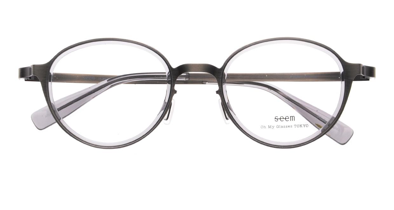seem Oh My Glasses TOKYO omg-138 Rosa-ATSーCG-48 [メタル/鯖江産/丸メガネ/シルバー]  4