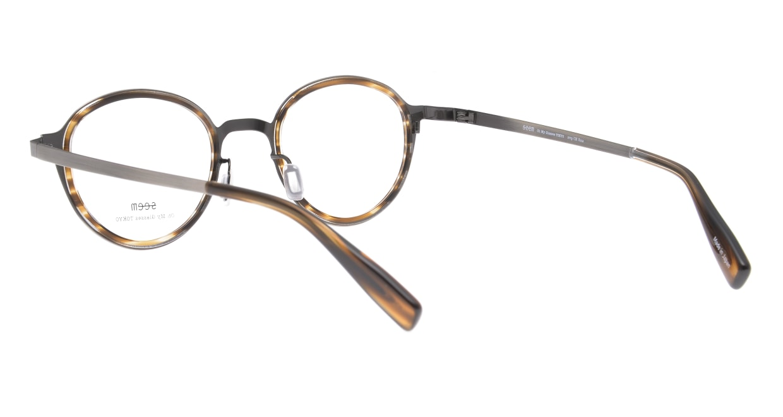 seem Oh My Glasses TOKYO omg-138 Rosa-ATSーBR-48 [メタル/鯖江産/丸メガネ/シルバー]  3
