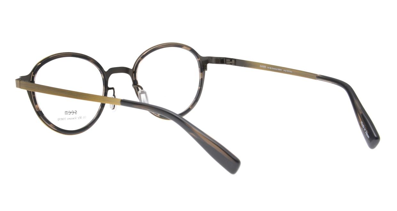 seem Oh My Glasses TOKYO omg-138 Rosa-ATGーDBR-48 [メタル/鯖江産/丸メガネ/ゴールド]  3