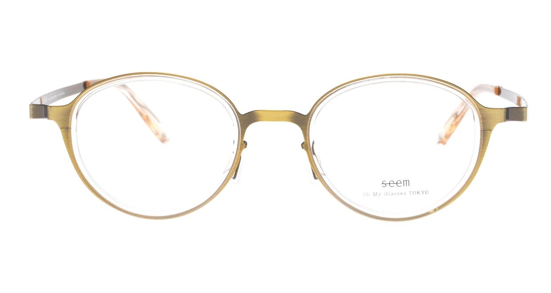 seem Oh My Glasses TOKYO omg-138 Rosa-ATGーBEG-48 [メタル/鯖江産/丸メガネ/ゴールド]