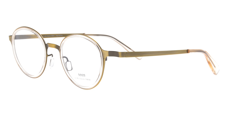 seem Oh My Glasses TOKYO omg-138 Rosa-ATGーBEG-48 [メタル/鯖江産/丸メガネ/ゴールド]  1