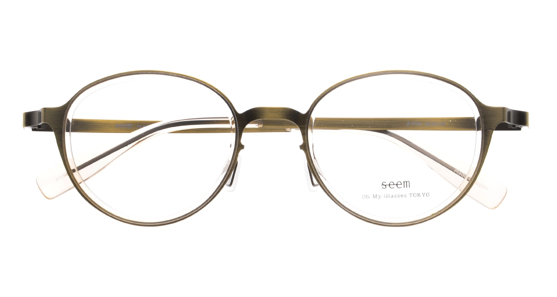 seem Oh My Glasses TOKYO omg-138 Rosa-ATGーBEG-48 [メタル/鯖江産/丸メガネ/ゴールド]  4