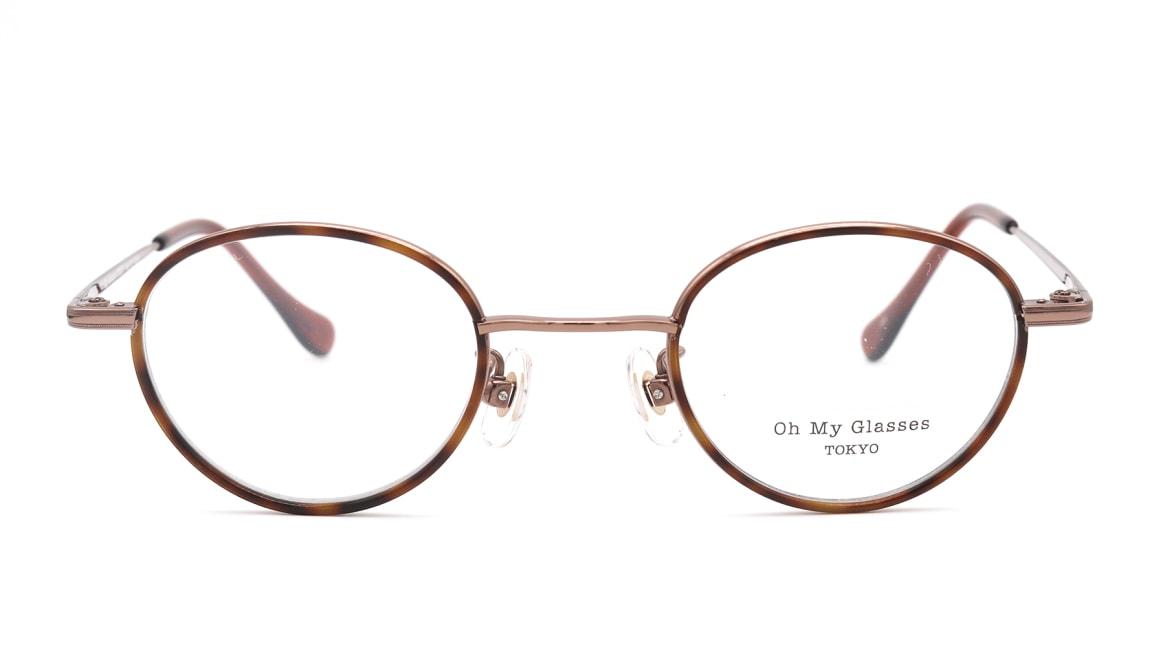 Oh My Glasses TOKYO Emily omg-139-BR [メタル/鯖江産/丸メガネ/茶色]