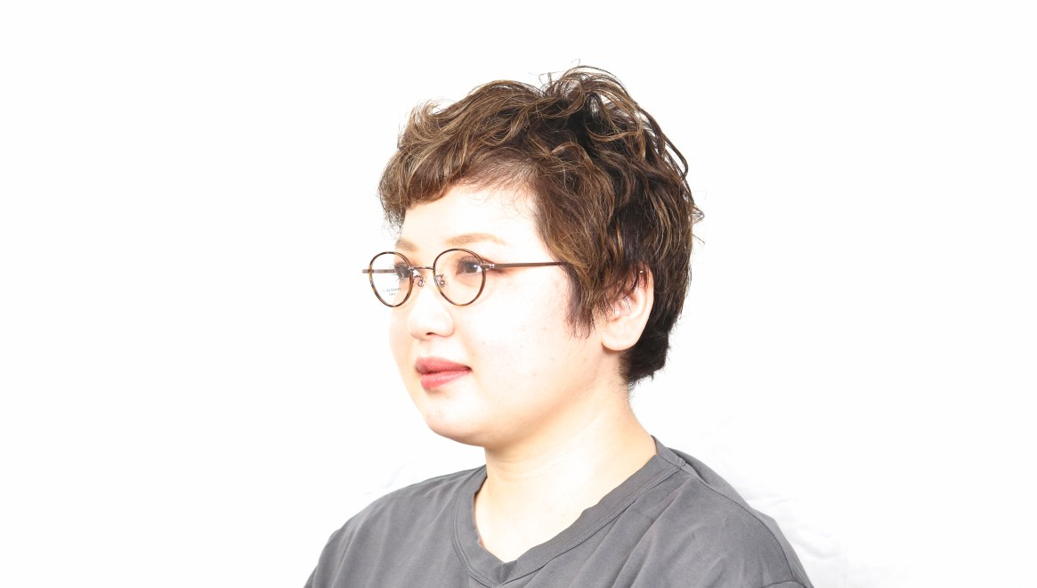 Oh My Glasses TOKYO Emily omg-139-BR [メタル/鯖江産/丸メガネ/茶色]  5