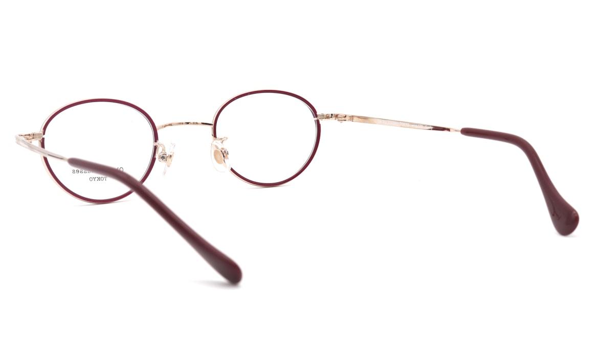Oh My Glasses TOKYO Emily omg-139-GP [メタル/鯖江産/丸メガネ/赤]  3
