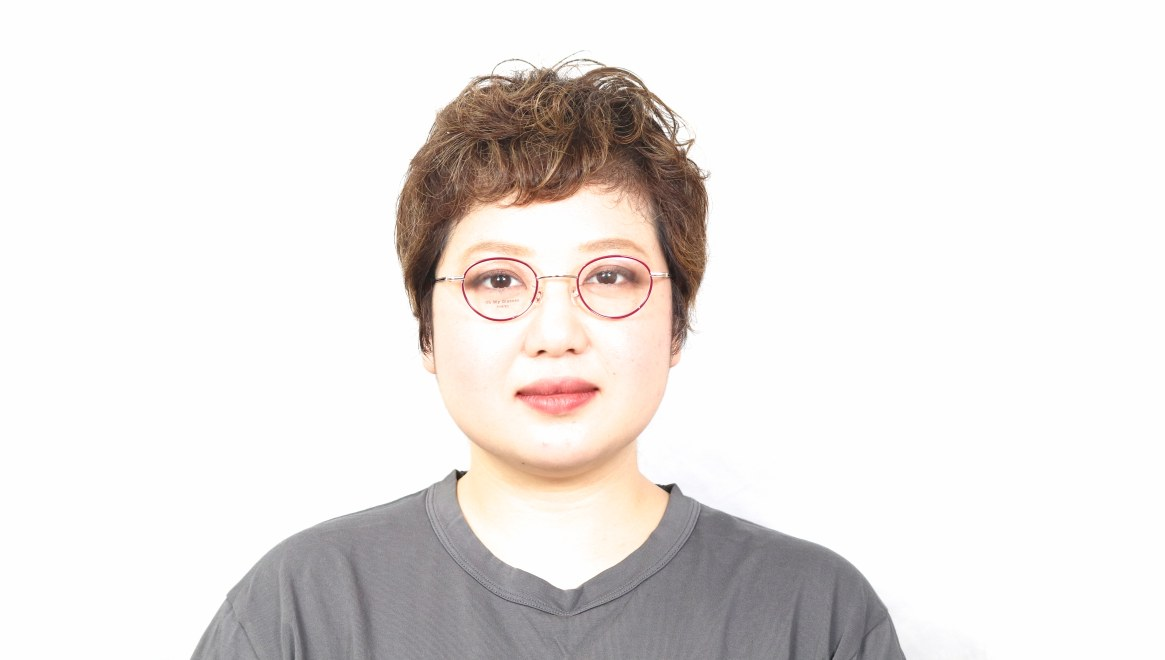 Oh My Glasses TOKYO Emily omg-139-GP [メタル/鯖江産/丸メガネ/赤]  4