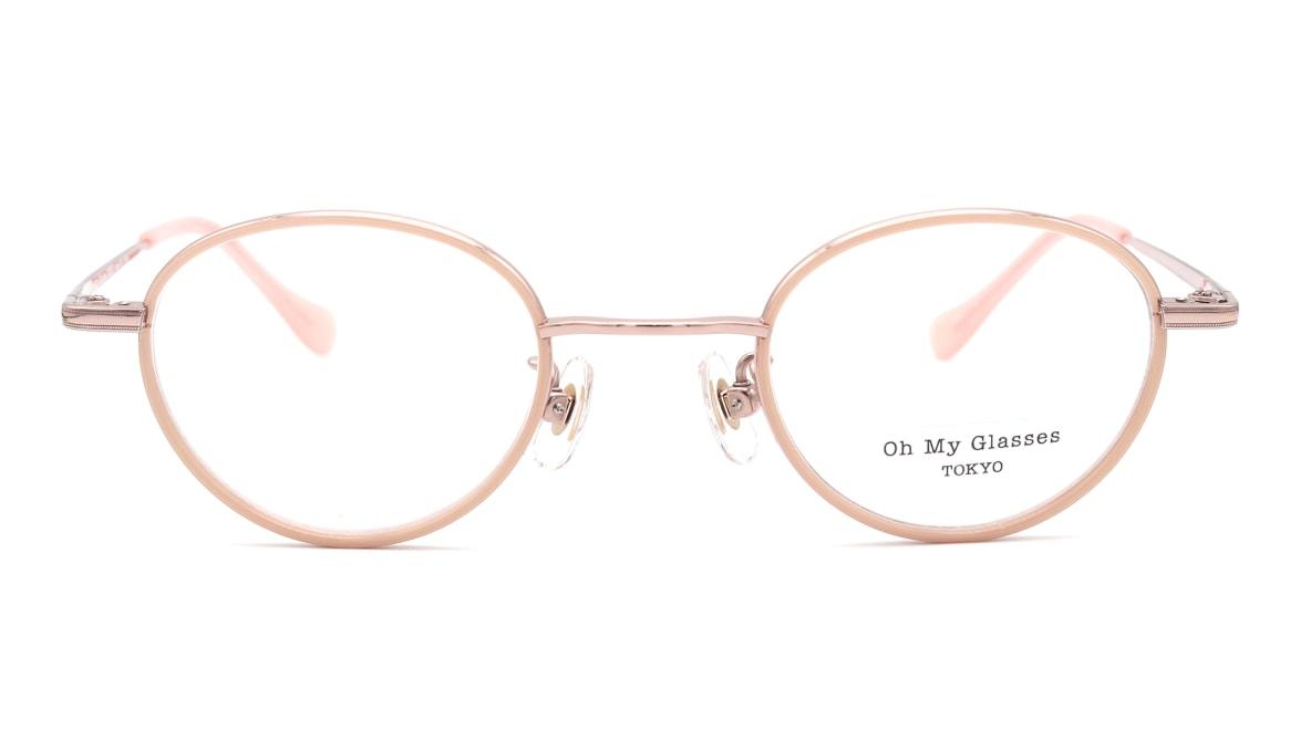 Oh My Glasses TOKYO omg-139 Emily-PK [メタル/鯖江産/丸メガネ/ピンク]