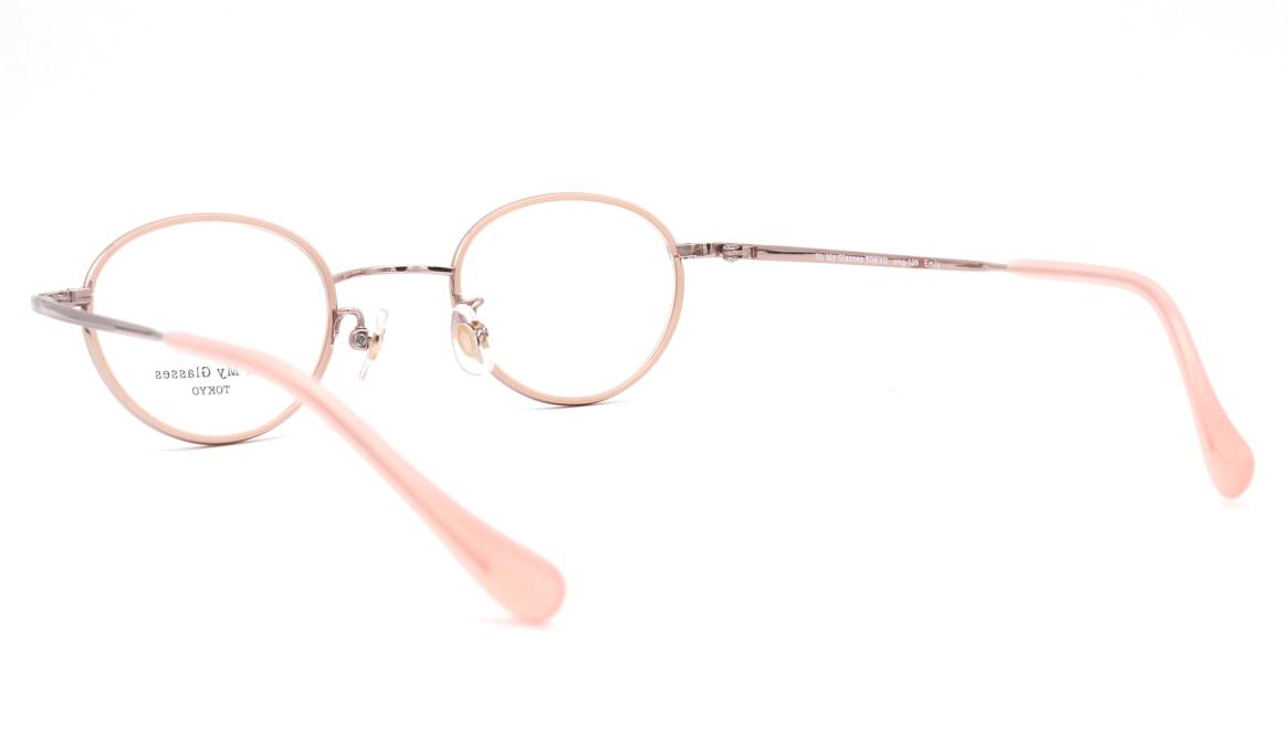 Oh My Glasses TOKYO omg-139 Emily-PK [メタル/鯖江産/丸メガネ/ピンク]  3