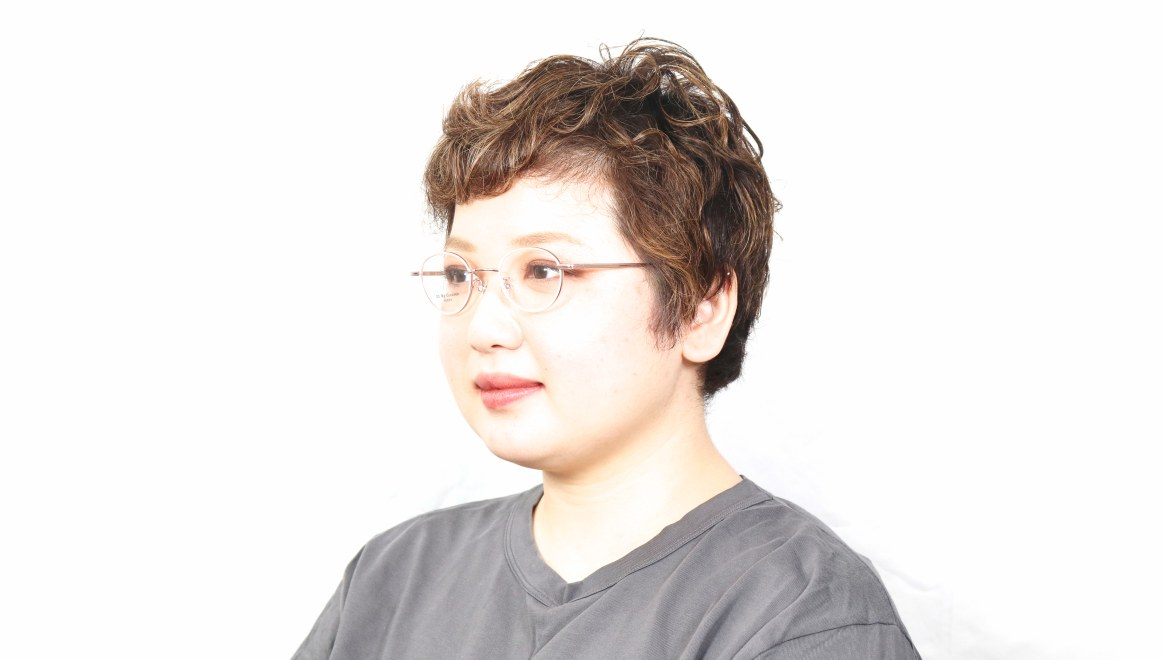 Oh My Glasses TOKYO omg-139 Emily-PK [メタル/鯖江産/丸メガネ/ピンク]  5