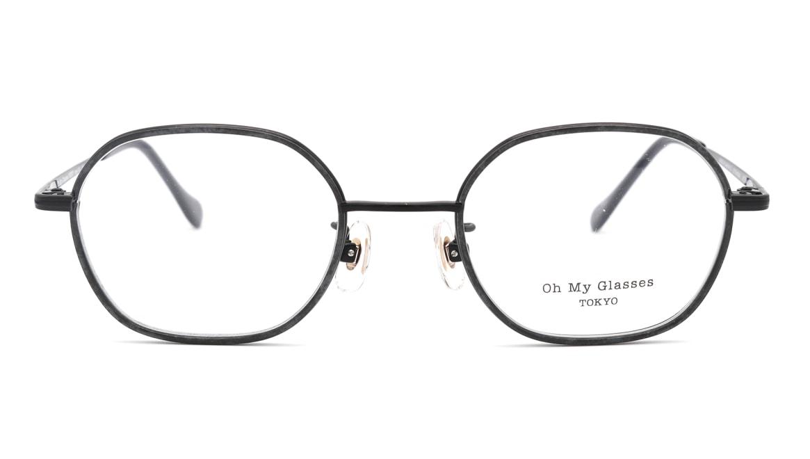Oh My Glasses TOKYO omg-140 Sofia-BK [メタル/鯖江産/スクエア]