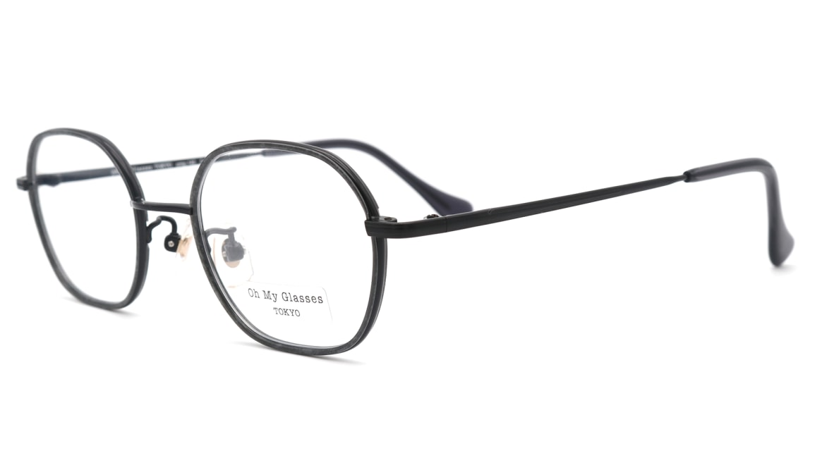 Oh My Glasses TOKYO omg-140 Sofia-BK [メタル/鯖江産/スクエア]  1