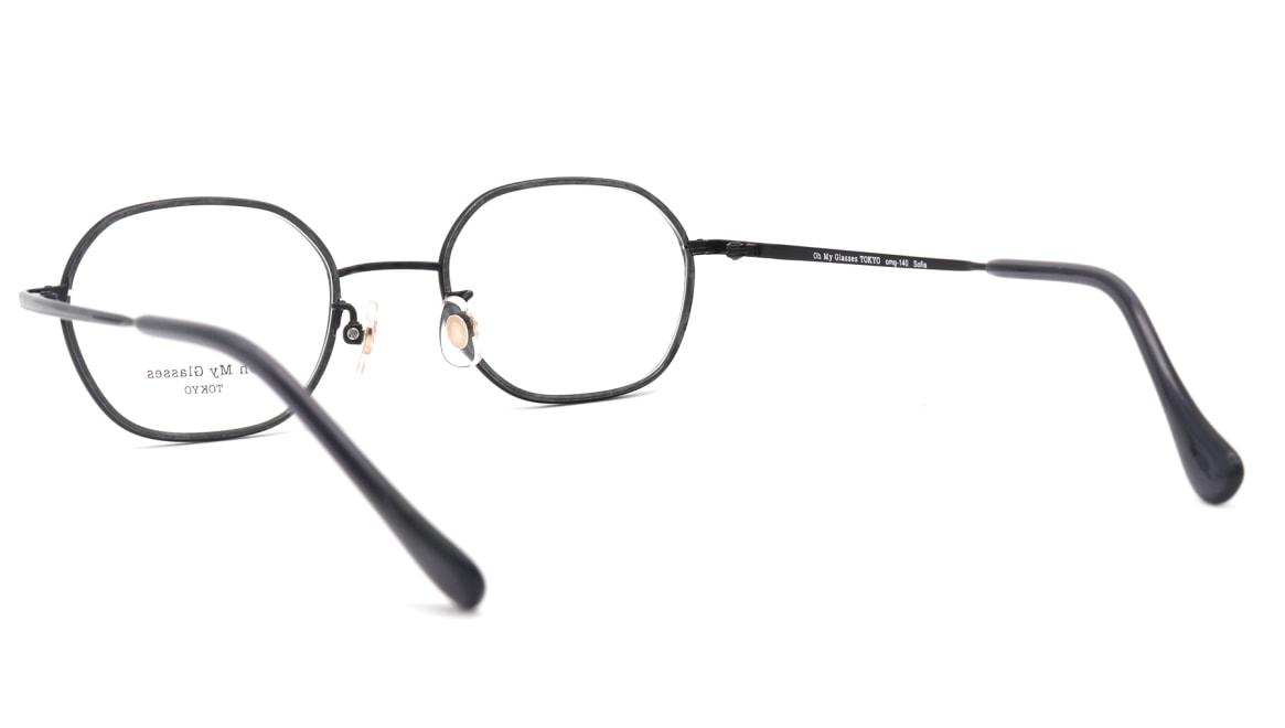 Oh My Glasses TOKYO omg-140 Sofia-BK [メタル/鯖江産/スクエア]  3