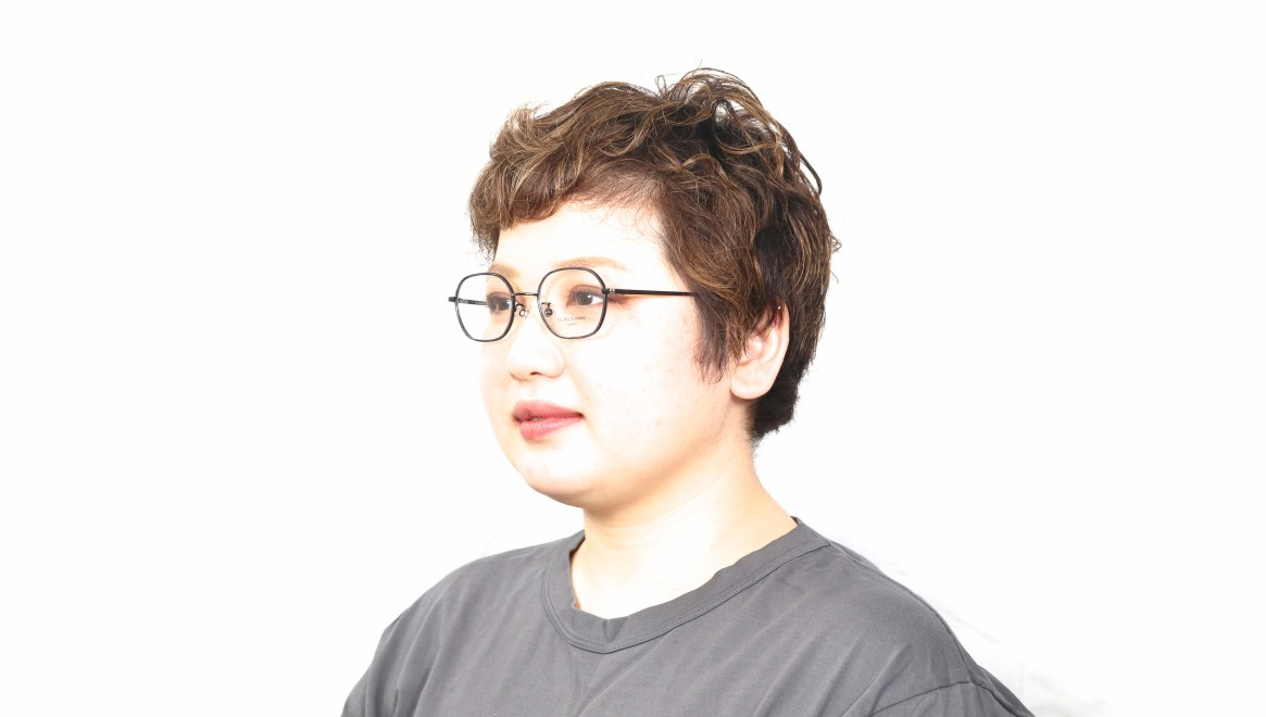 Oh My Glasses TOKYO omg-140 Sofia-BK [メタル/鯖江産/スクエア]  5