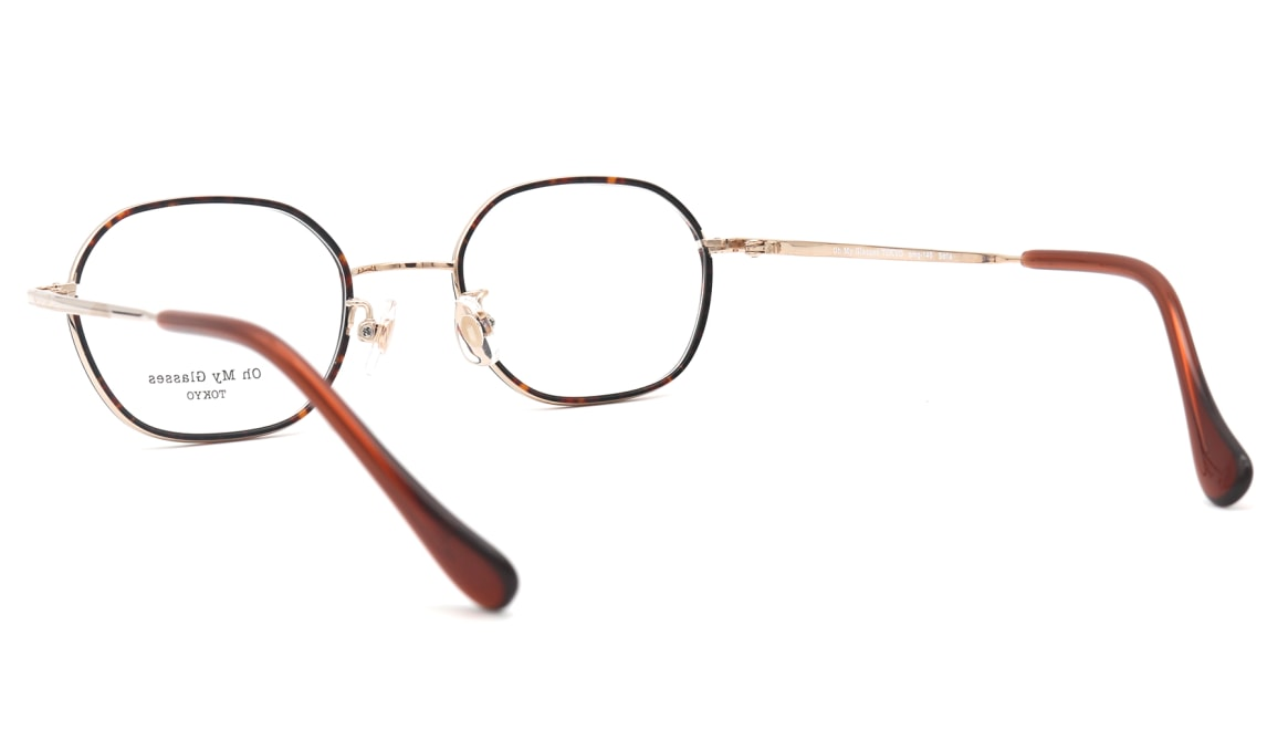 Oh My Glasses TOKYO omg-140 Sofia-GP [メタル/鯖江産/スクエア/べっ甲柄]  3