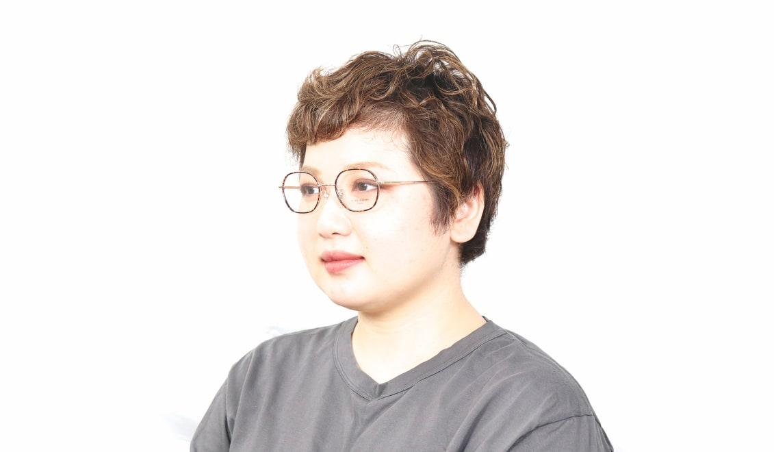 Oh My Glasses TOKYO Sofia omg-140-GP [メタル/鯖江産/スクエア/べっ甲柄]  5