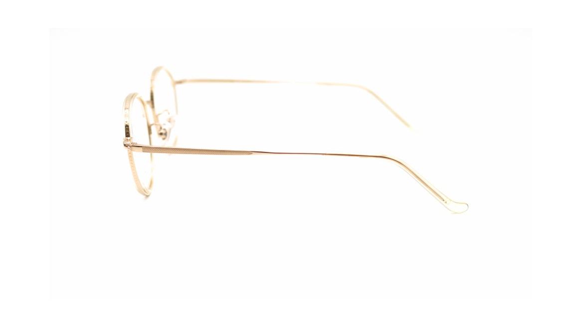 ハンドメイドアイテム H-3103-7-44 [メタル/鯖江産/ウェリントン/ゴールド]  2