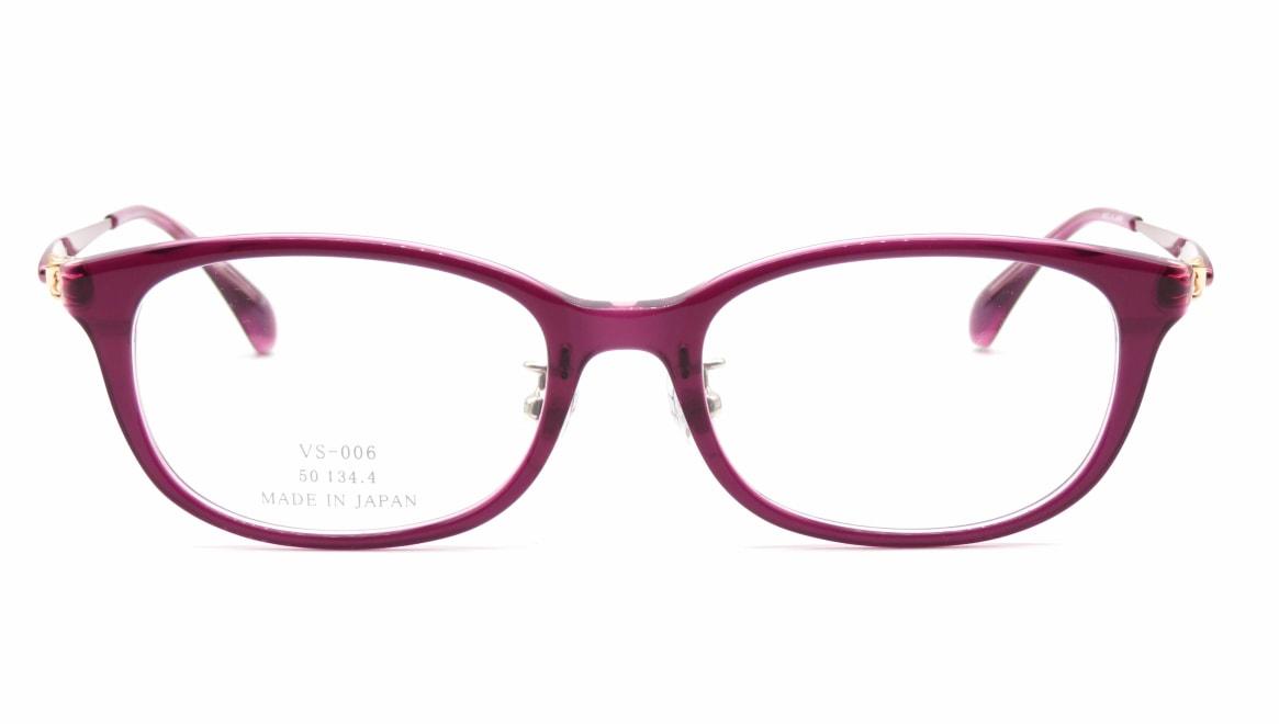 ヴィセ VS-006-3-50 [鯖江産/ウェリントン/紫]