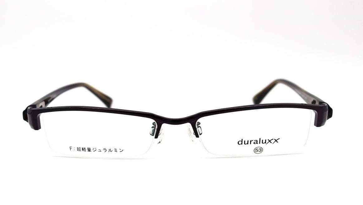 ジュラルックス DU1022-4ー53 [メタル/鯖江産/ハーフリム/スクエア/紫]