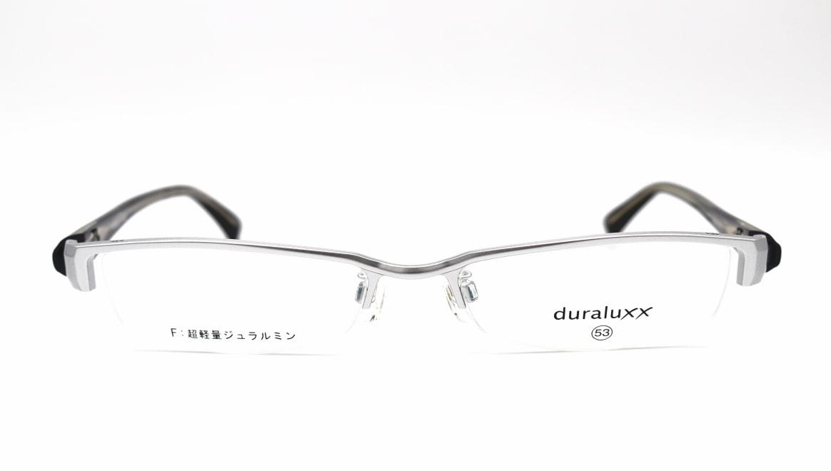 ジュラルックス DU1023-1ー53 [メタル/鯖江産/ハーフリム/スクエア/シルバー]