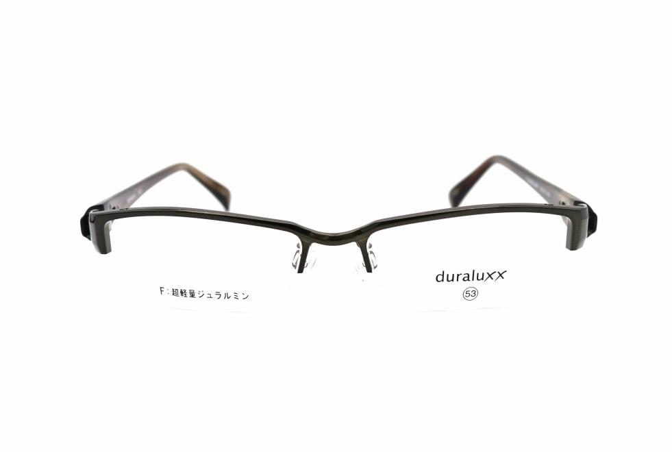 ジュラルックス DU1023-4ー53 [メタル/鯖江産/ハーフリム/スクエア/緑]