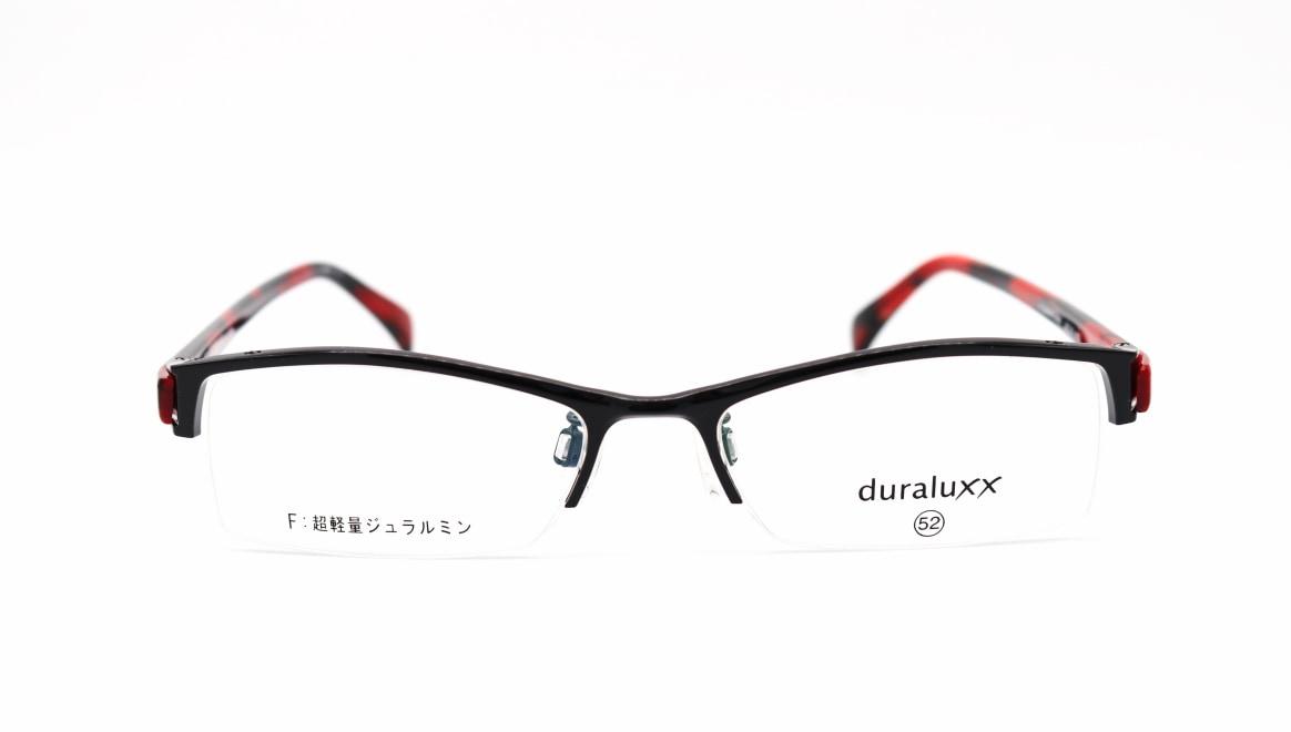 ジュラルックス DU1025-4ー52 [メタル/鯖江産/ハーフリム/スクエア]