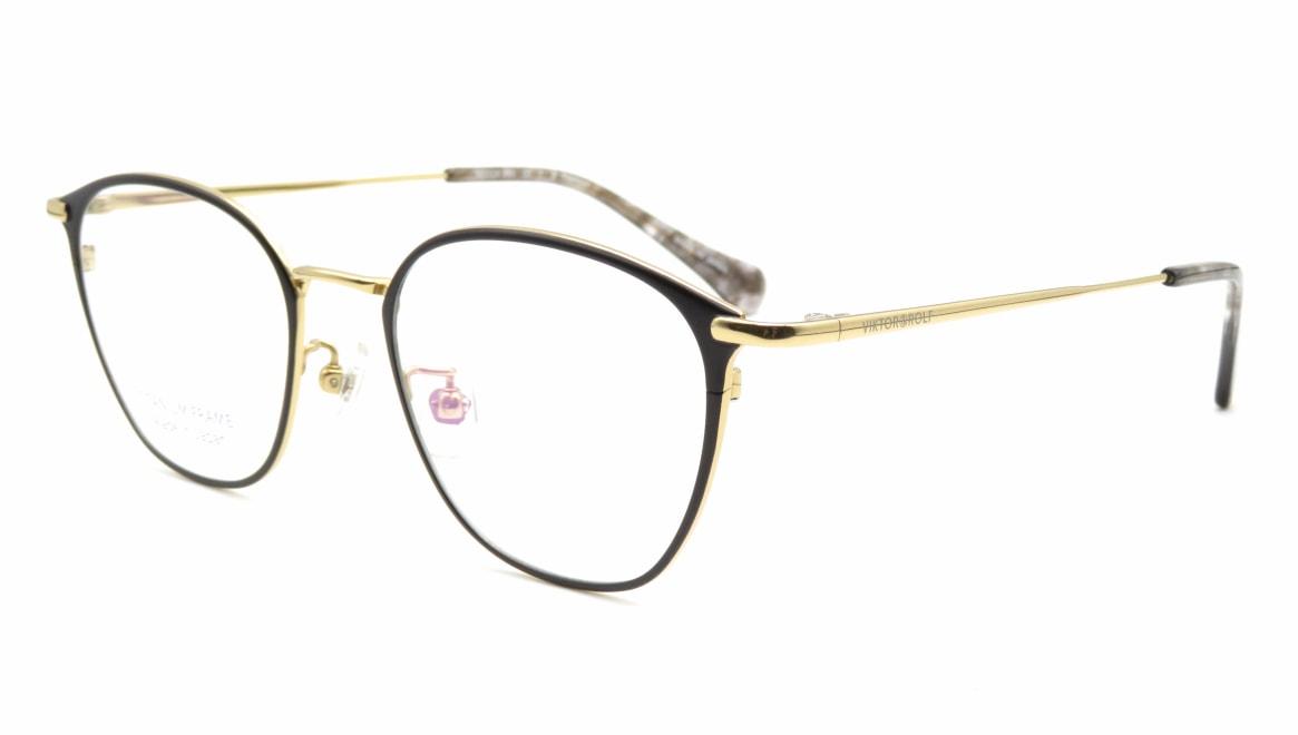 ヴィクター&ロルフ 70ー0240-1-50 [メタル/鯖江産/丸メガネ]  1