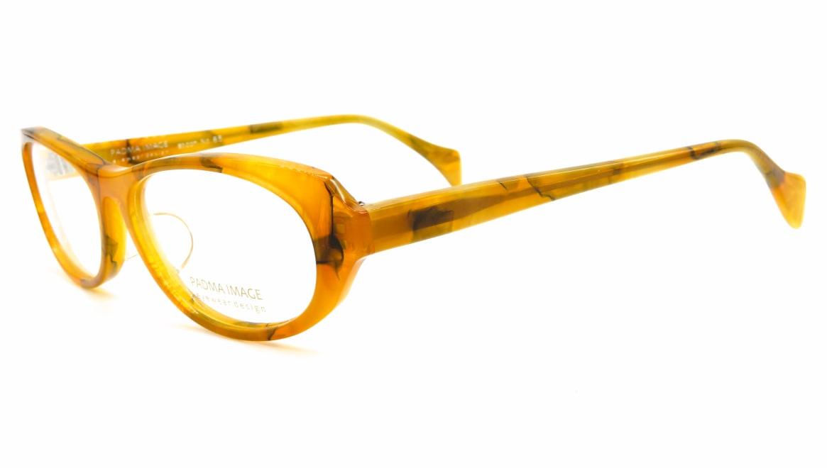 パドマイメージ spoon-85-52 [鯖江産/オーバル/黄色]  1