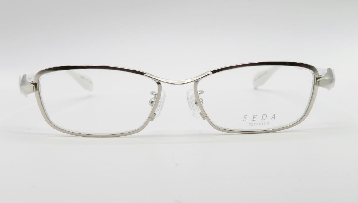 セダ SD-2220-01-54 [メタル/鯖江産/スクエア/シルバー]